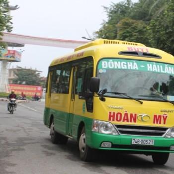 Lộ trình tuyến xe buýt Quảng Trị