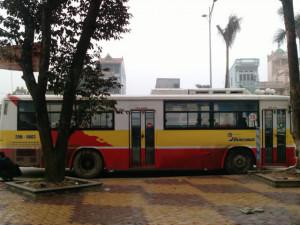 Lộ trình xe bus tuyến 15 tại Hà Nội