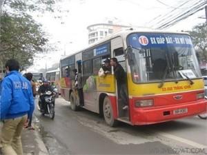 Lộ trình xe bus tuyến 16 Hà Nội