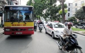 Lộ trình xe bus tuyến 25 tại Hà Nội
