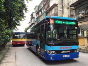 Lộ trình xe bus tuyến 36 Hà Nội