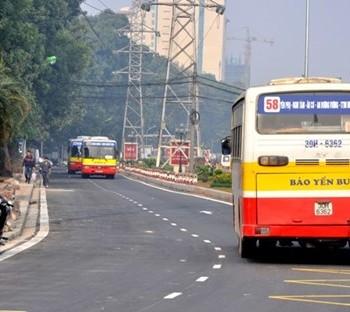 Lộ trình xe bus tuyến 58 tại Hà Nội