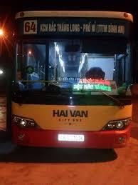 Lộ trình xe bus tuyến 64 tại Hà Nội