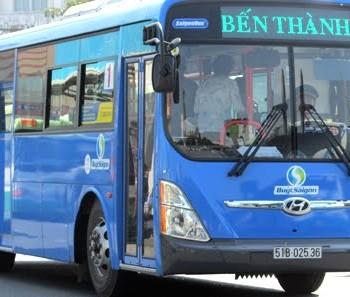Lộ trình xe bus 01 TP HCM