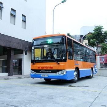Lộ trình xe bus tuyến 90 tại Hà Nội