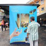 quảng cáo nhà chờ xe bus oreo